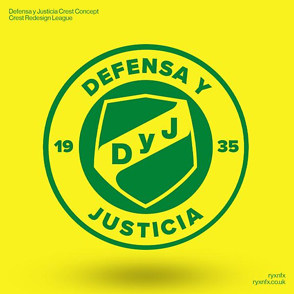Defensa y Justicia | Crest Redesign League