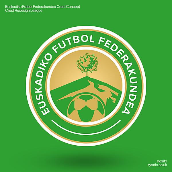Euskadiko Futbol Federakundea   Crest Redesign League