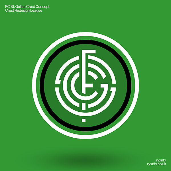 FC St. Gallen   Crest Redesign League