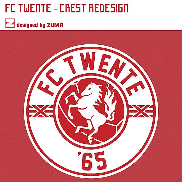 FC Twente   Crest Redesign