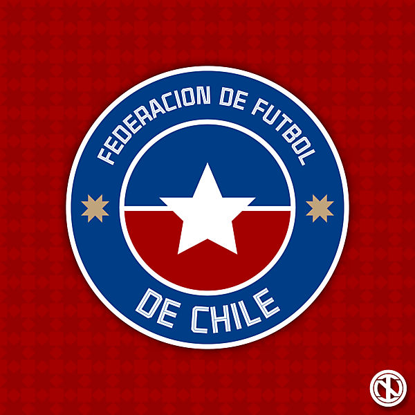Federación de Fútbol de Chile   Crest Redesign Concept