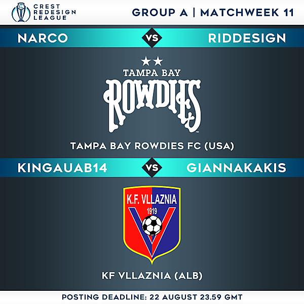 Group A - Matchweek 11