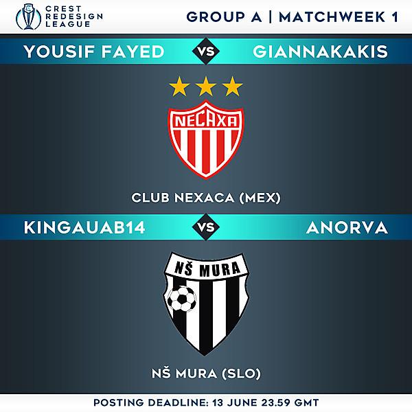 Group A - Matchweek 1