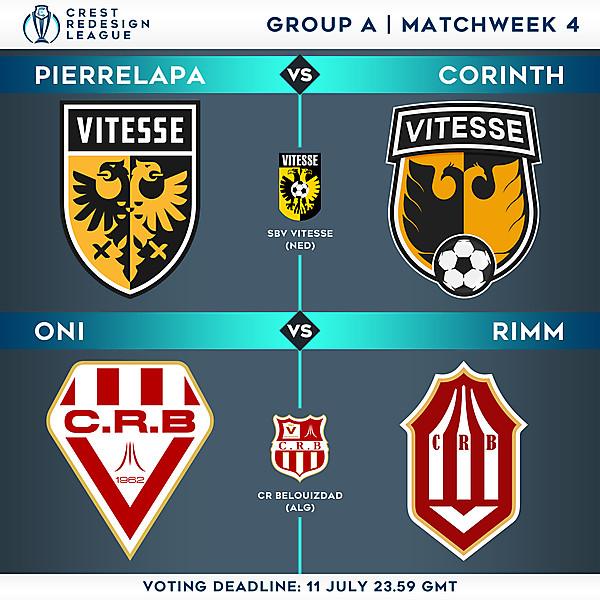 Group A - Matchweek 4 - Voting