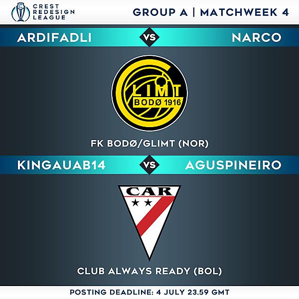 Group A - Matchweek 4