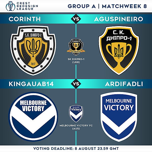 Group A - Matchweek 8 - Voting