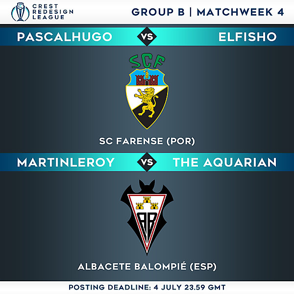 Group B - Matchweek 4