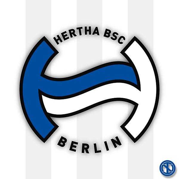 Hertha Berlin | Crest Redesign Concept