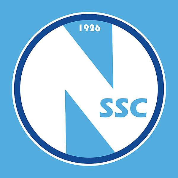 Napoli SSC Crest Redesign