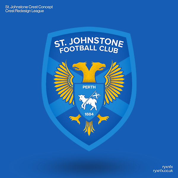 St. Johnstone | Crest Redesign League