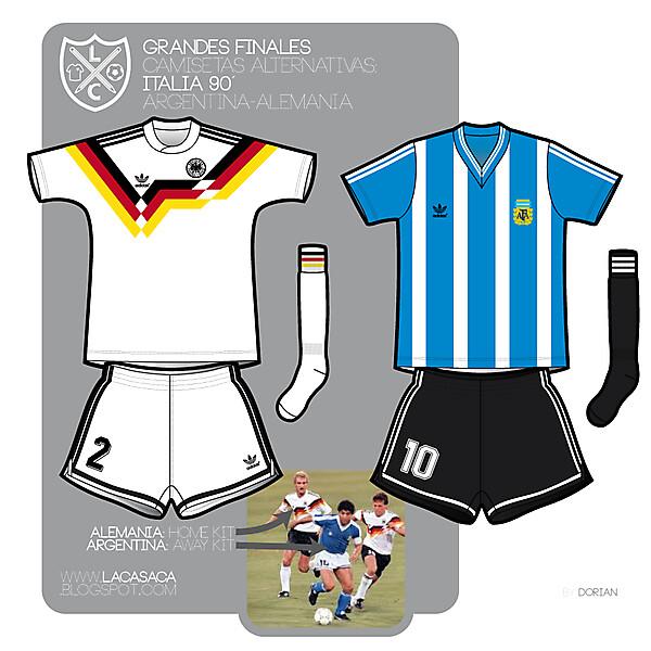 Argentina vs Germany WC90'