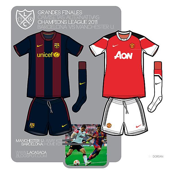 Barcelona VS Manchester U.