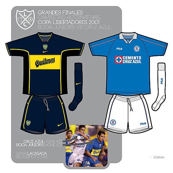 Boca vs Cruz Azul