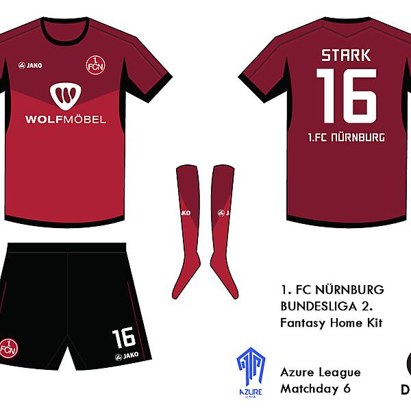 1.FC Nurnburg Kit- Azure League Matchday 6