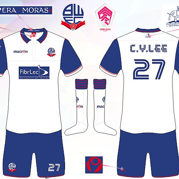 Bolton Wanderers FC Home Kit [Crimson League R2]