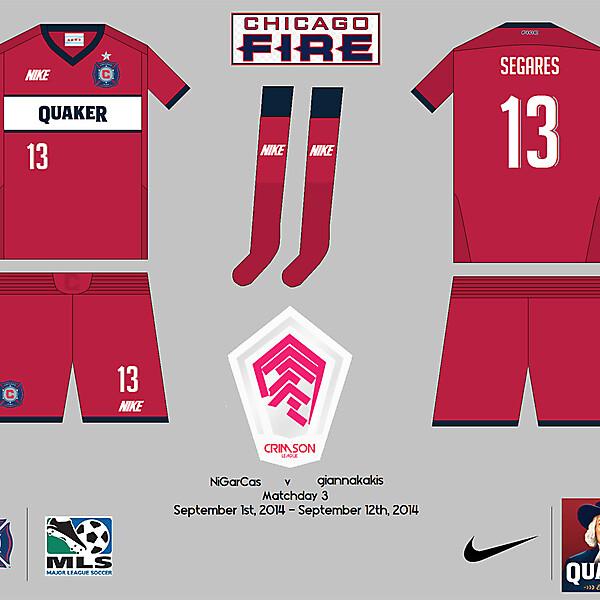 Chicago Fire SC - Crimson League - Matchday 3