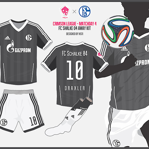 FC Schalke 04 Away kit - Crimson League - Matchday 4