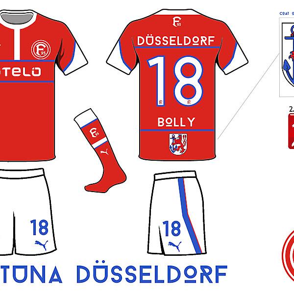 Fortuna Düsseldorf Home Kit- Azure League Matchday 6