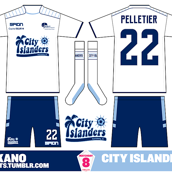 Harrisburg City Islanders Away - Crimson League Matchday 8