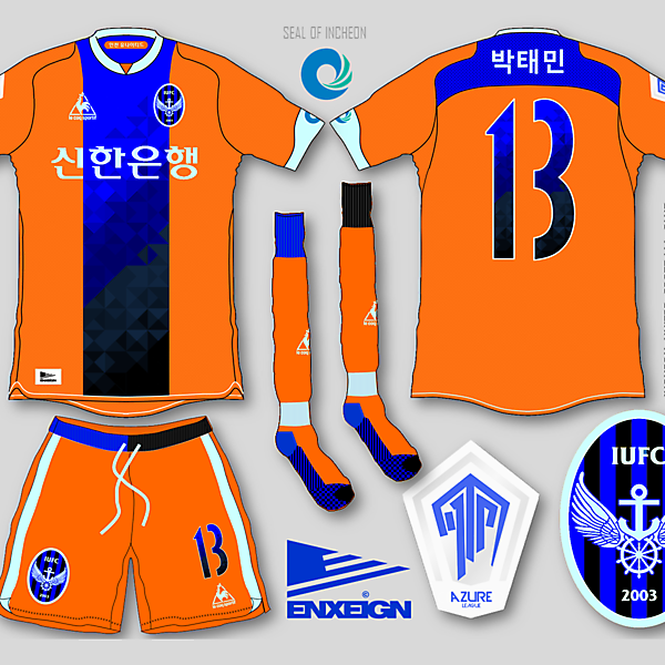 Incheon United Away Jersey