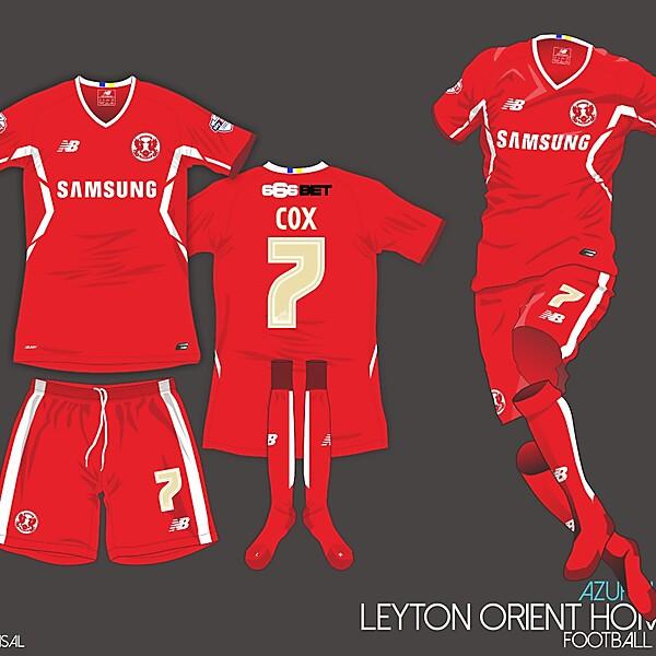 Leyton Orient FC Home Kit AL/MD9