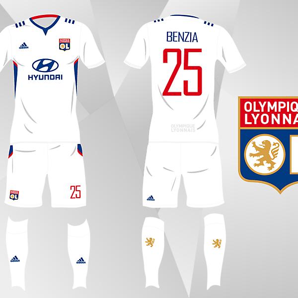 Olympique Lyonnais, Matchday 9 - Crimson League