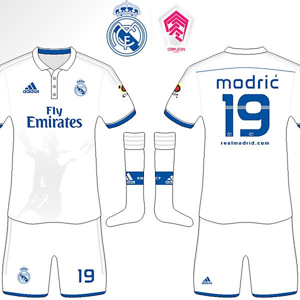 Real Madrid Home Kit (In Memory of Alfredo di Stefano) [Crimson League R1]
