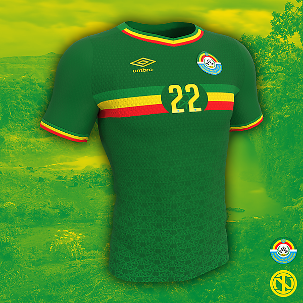 Ethiopia | AFCON 2022 Home Kit Concept