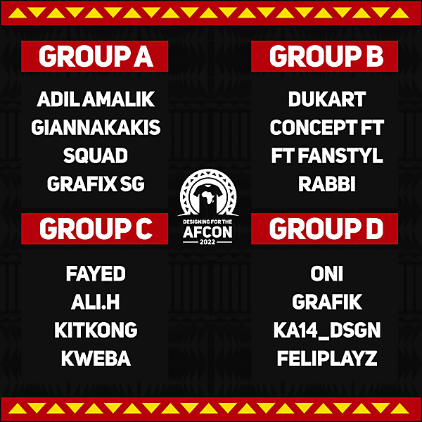 Groups stage draw