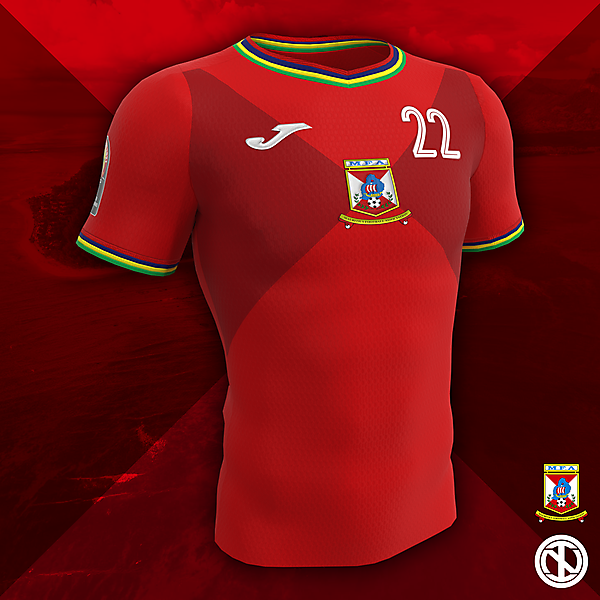 Mauritius | AFCON 2022 Home Kit Concept