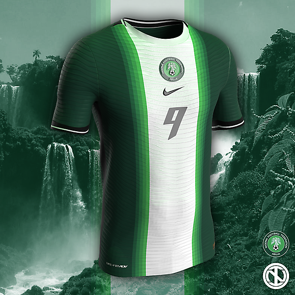 Nigeria | AFCON 2022 Home Kit Concept