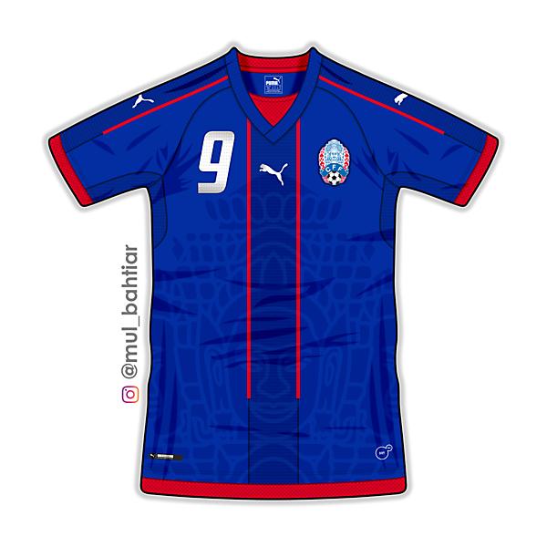Cambodia Puma Home Jersey Concept
