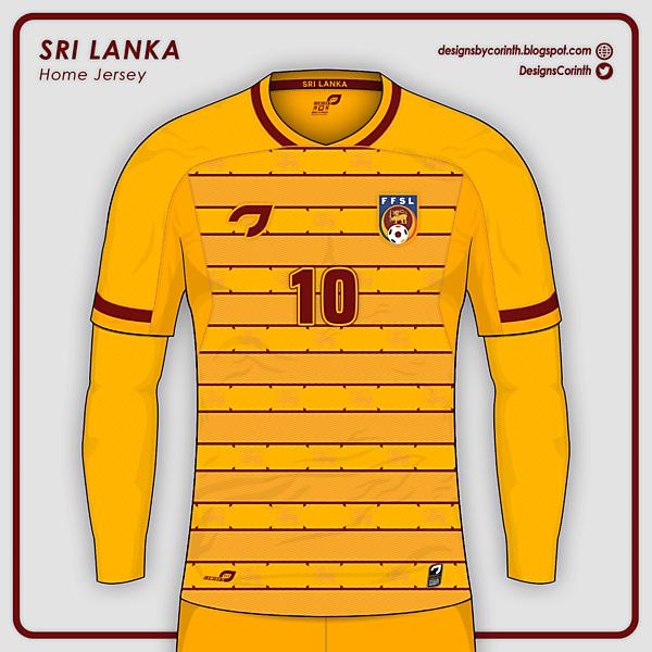 Sri Lanka | Home Jersey