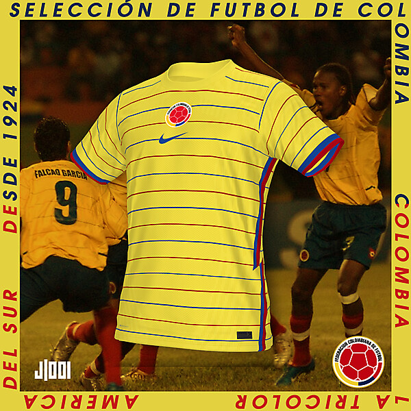 COLOMBIA   NIKE HOME SHIRT CONCEPT