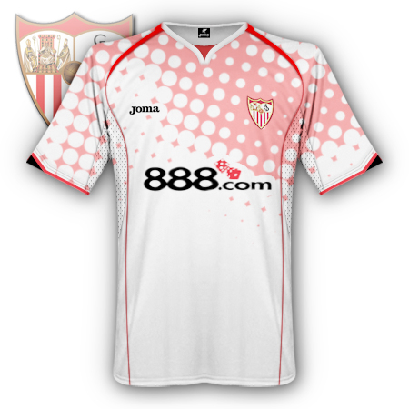 Sevilla home shirt