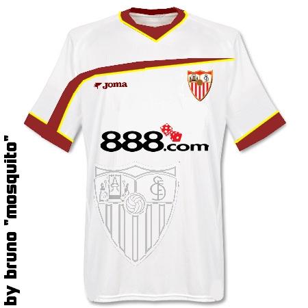 Sevilla Home Shirt by Bruno \