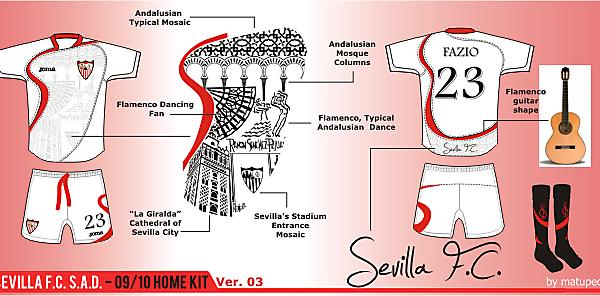 Sevilla FC Home Kit - Ver. 03