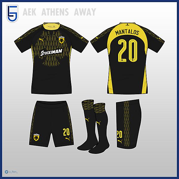 AEK Athens Away