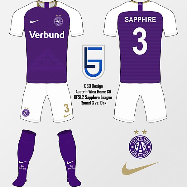 Austria Wien Home - Sapphire R3