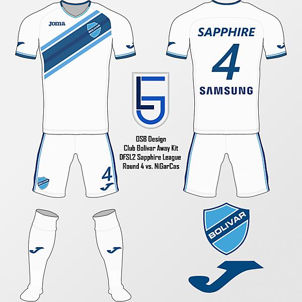 Club Bolivar Away - Sapphire R4