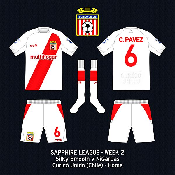 Curicó Unido - Home kit