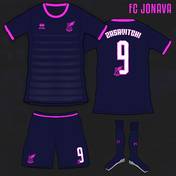 FC Jonava Away Kit Concept