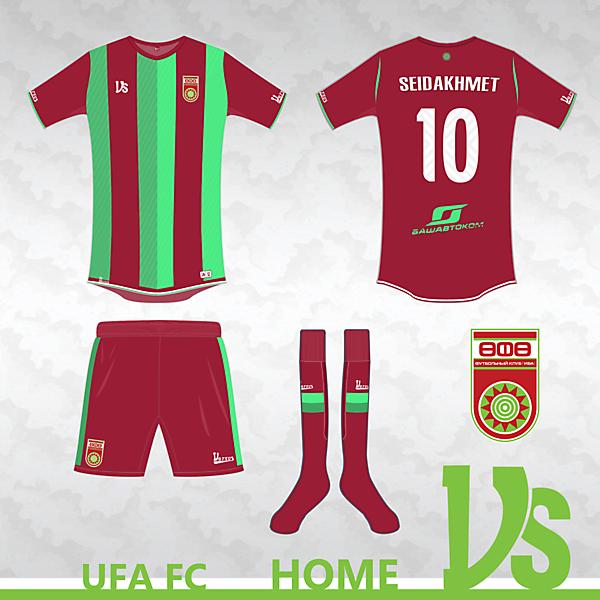 FC Ufa Home kit
