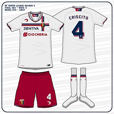 Genoa CFC | Away Kit