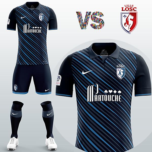 Lille OSC Away kit