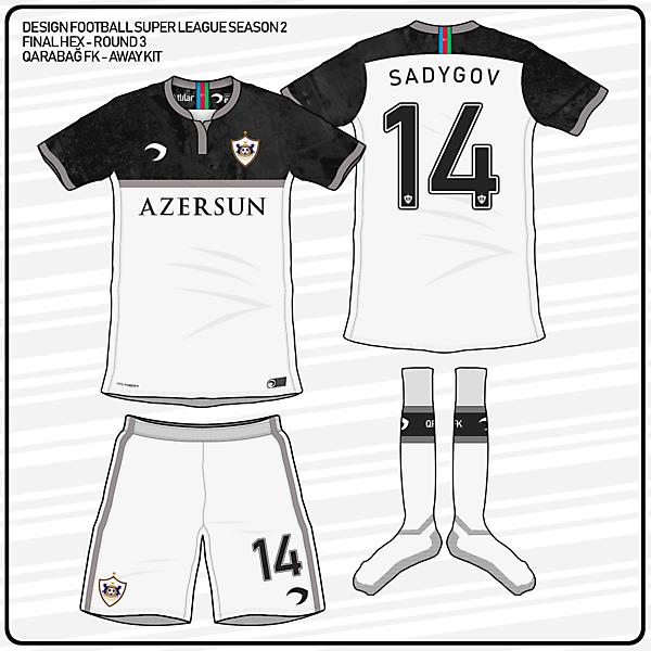 Qarabağ FK   Away kit