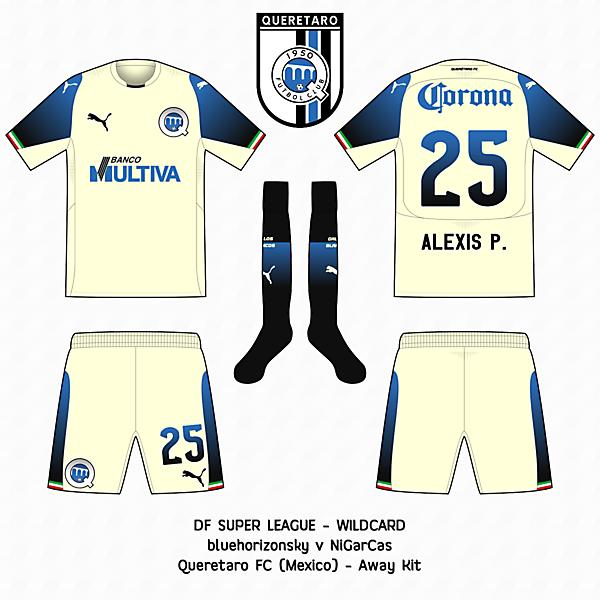 Querétaro FC - Away kit