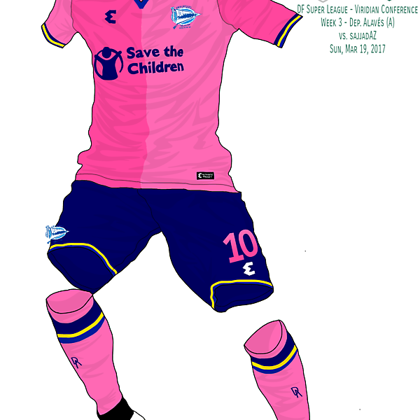 Deportivo Alavés Away Kit