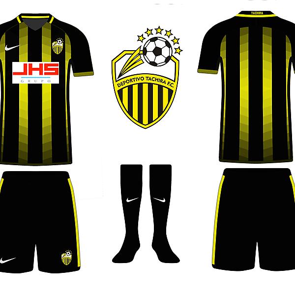Deportivo Táchira - Home Kit [Riyan Aldafa]