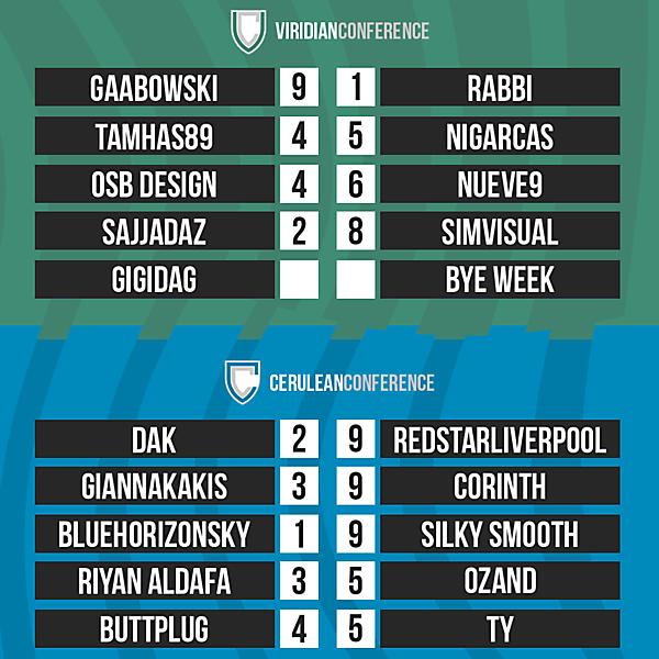DFSL Round 6 Results